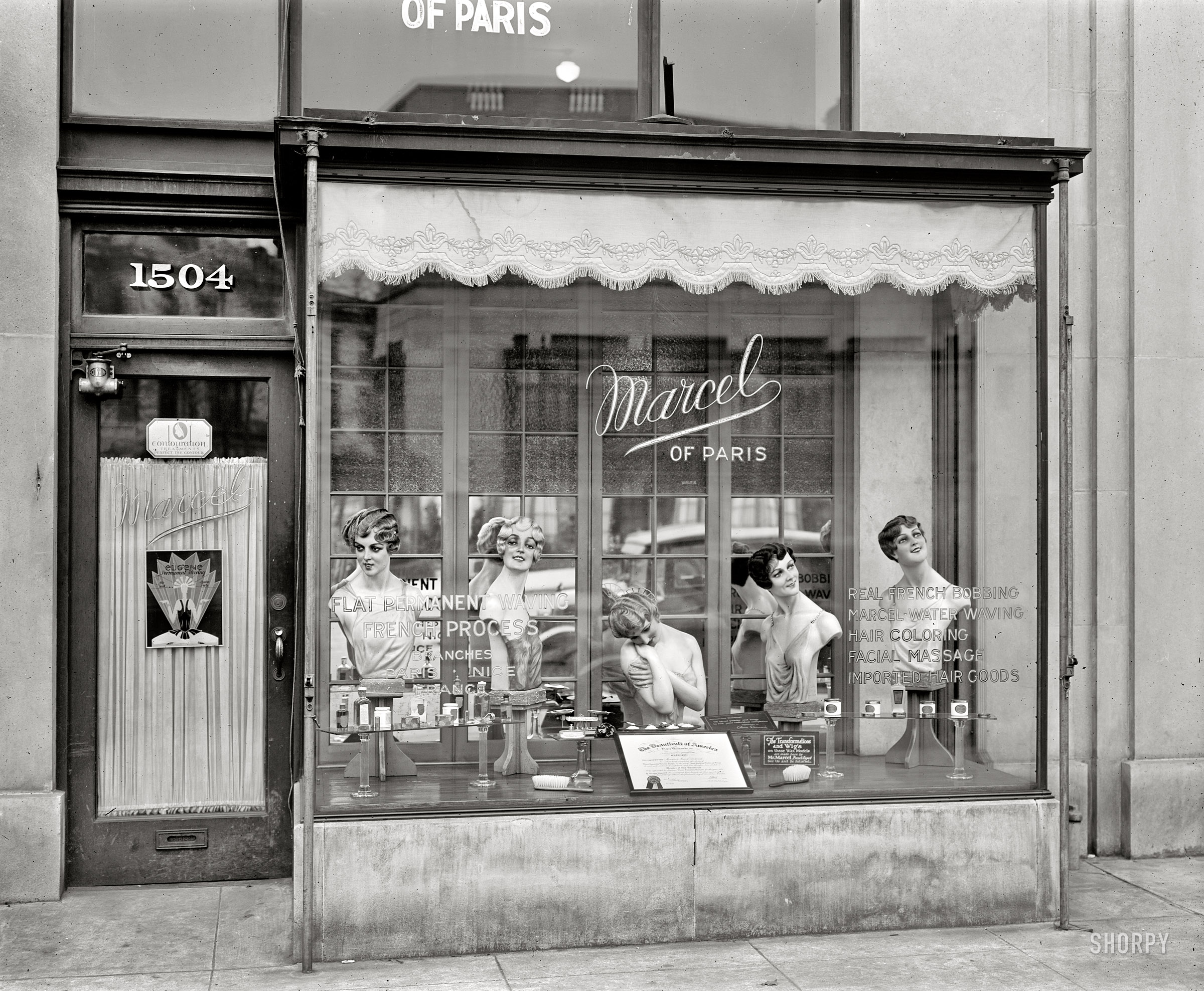 Fingerwave swing fashionista for Salon photo paris