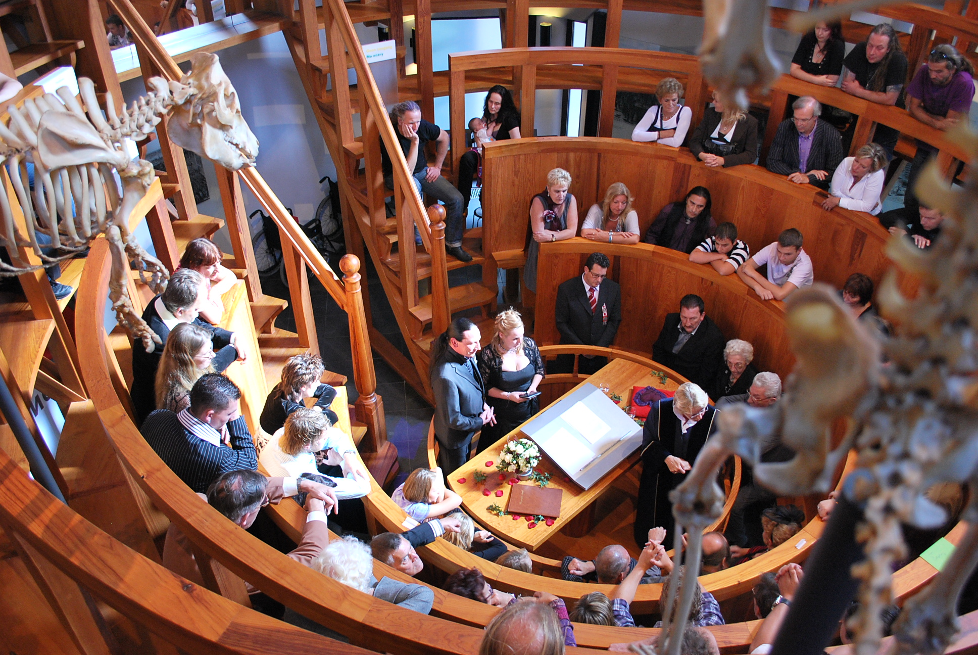Morbid Anatomy: Wedding at the Anatomical Theatre! Museum Boerhaave ...